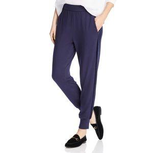 NWT Eileen Fisher Velvet Stripe Joggers size:M,L